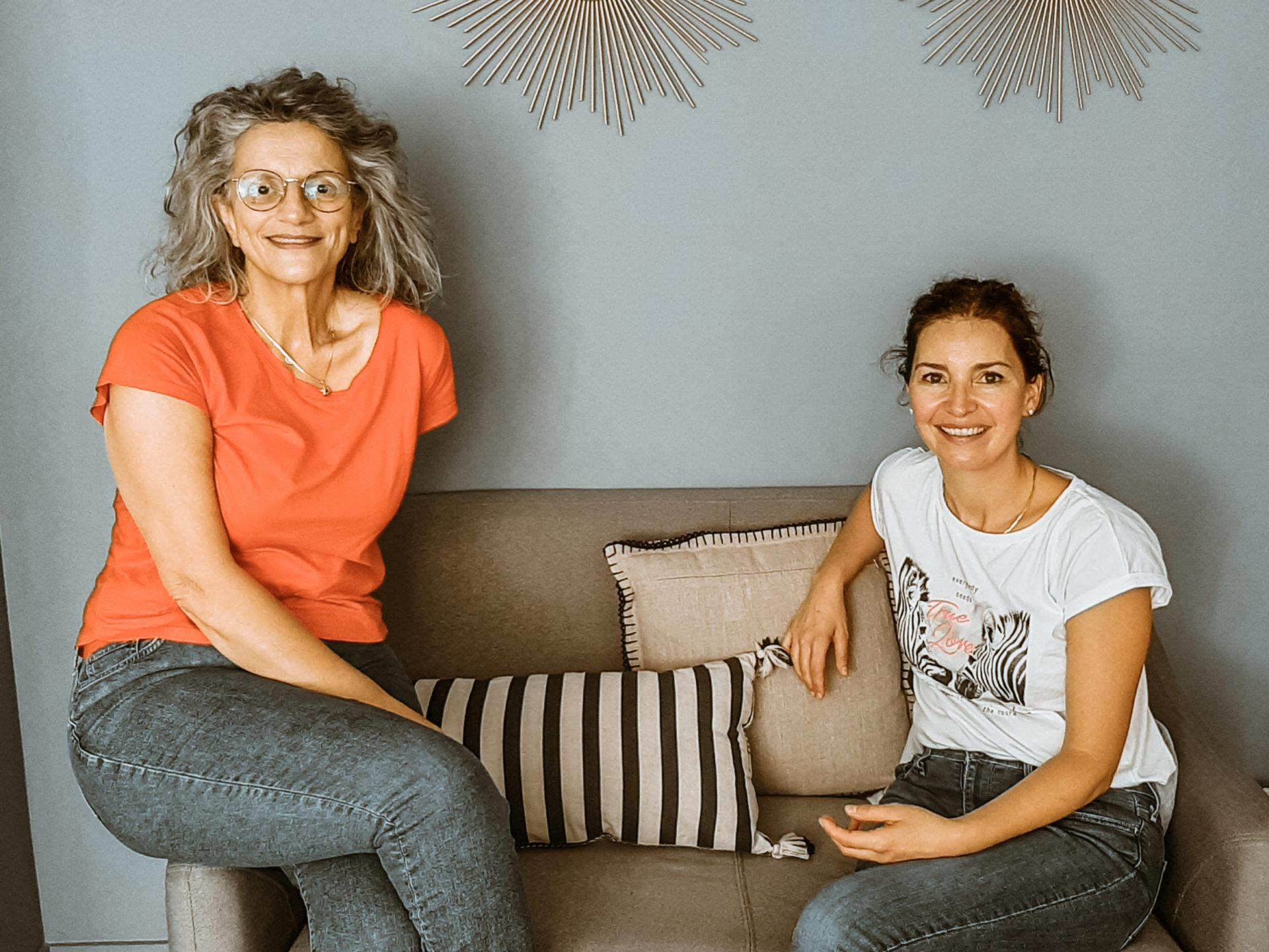 Séverine est aux côtés de Sonia Krief lors de sa formation au TBB.